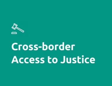 Cross-border access to justice logo