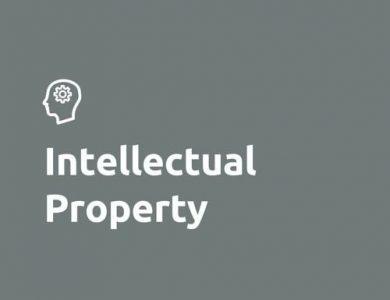 Intellectual property logo